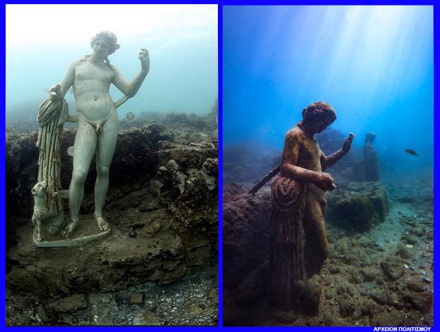 Το Υποθαλάσσιο Αρχαιολογικό Πάρκο της Baia στην Ιταλία
