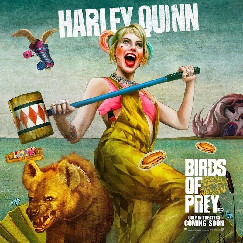 Birds of Prey: And the Fantabulous Emancipation of One Harley Quinn (2020) - Character Posters : マーゴット・ロビーのハーレー・クインと DC コミックスの戦うヒロインたちが活躍する「バーズ・オブ・プレイ」のキャラクター・ポスター ! !