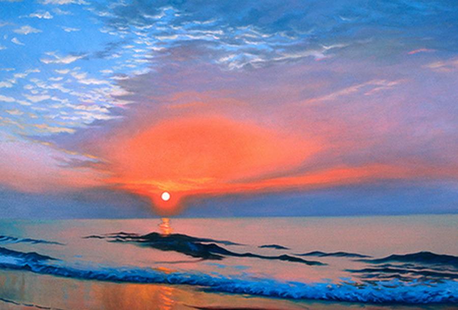 Imgenes Arte Pinturas Lindos Paisajes Con Nubes Y Cielos