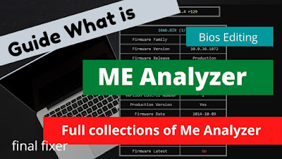Download Me Analyzer tools