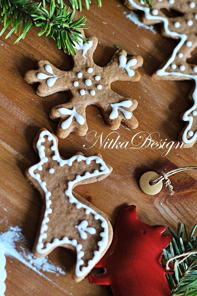 My Gingerbread Village by Nitka Design featured at Pieced Pastimes
