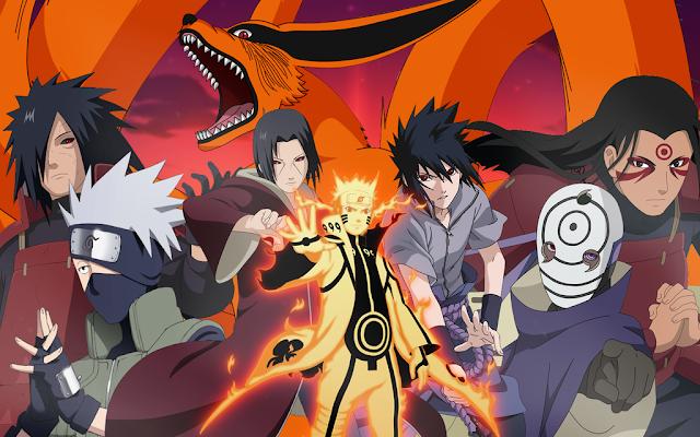 List/ Daftar 12 Karakter Ninja Terkuat dalam Naruto Shipudden