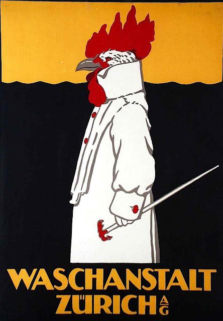 1905 Robert Hardmeier illustration rooster