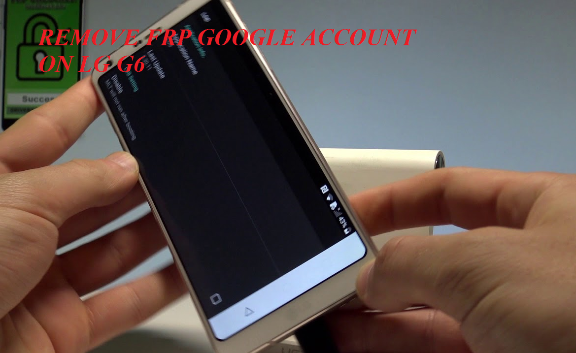 How To Remove Google Account On LG G6 - TechZai