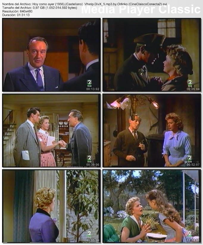Imagenes de la película: Hoy como ayer | 1956 | Never Say Goodbye