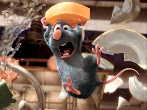 Remy acting surprised in Ratatouille animatedfilmreviews.filminspector.com