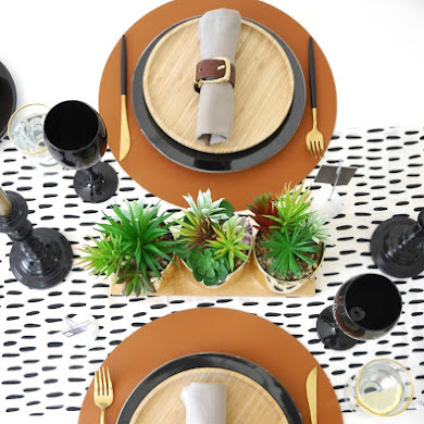 Father's Day Masculine Tablescape Ideas