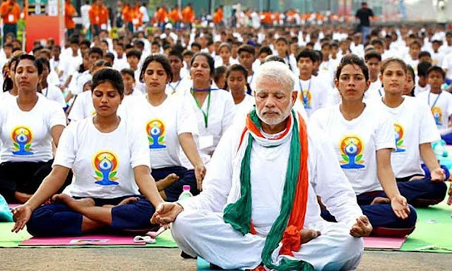 Yoga is for everybody, It's on top of religion, Says Prime Minister Modi as he Leads Celebrations in Ranchi