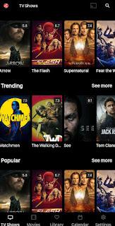 تطبيق مشاهدة الافلام والمسلسلات الاجنبية الحديثة مجانا