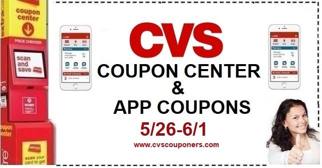 CVS Coupons & Digital App Coupon List - 5/26-6/1