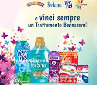 Logo Vernel, Perlana, L'Acchiappacolore e Coloreria Italiana: ricevi sempre un Buono Benessere premio certo