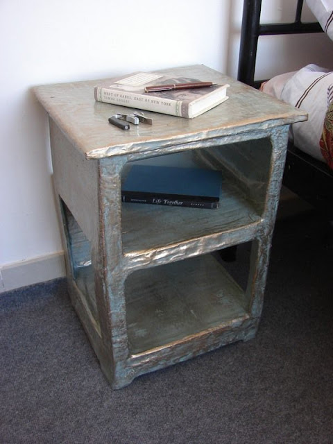 Paper Mache Side Table