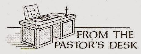 Holey, Wholly, Holy.: From the Pastor's Desk