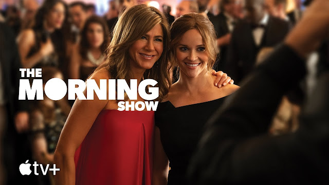 Jennifer Aniston y Reese Witherspoon en 'The Morning Show'