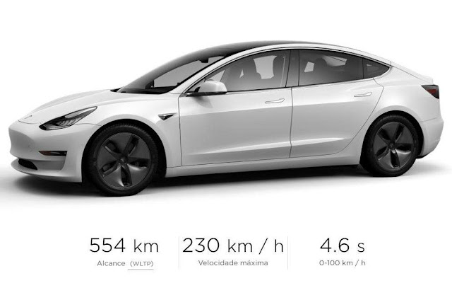 Tesla Model 3 Long Range