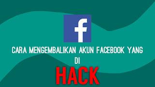 mengembalikan akun fb yang di hack