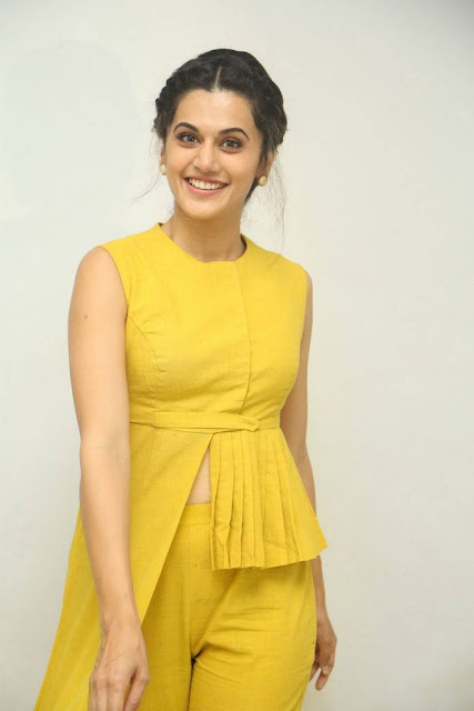 Taapse Stills At Anando Brahma Movie Motion Poster Launch