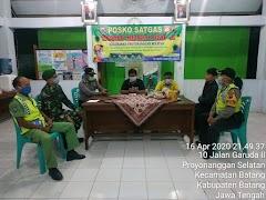 Patroli Gabungan TNI POLRI Pantau Data Pemudik