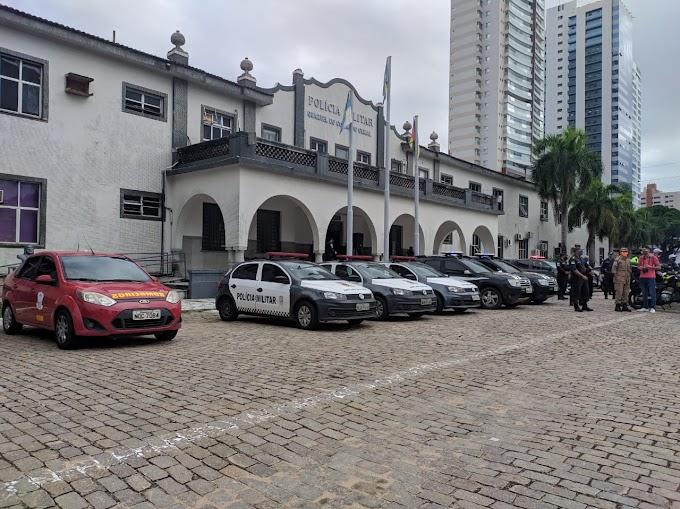 Forças de Segurança Pública intensificam fiscalização na orla de Natal