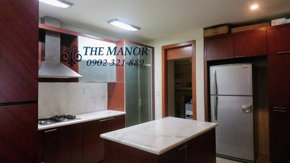 The Manor 1 HCM cho thuê căn hộ 3 phòng ngủ block AW giá rẻ bất ngờ  - hình 3