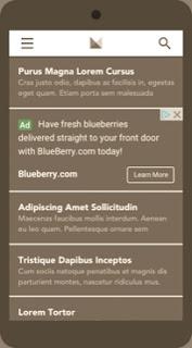 Adsense infeed ads ब्लॉग में कैसे लगायें