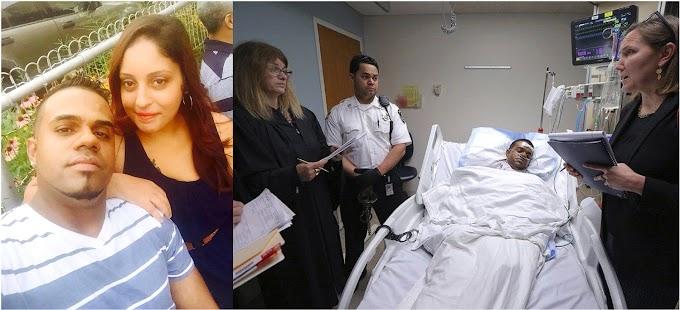 Una dominicana muerta y esposo grave después que la pareja se enfrentó a puñaladas en Lawrence