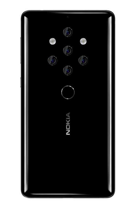 Leaked Design and Image Shows That Nokia 10 Will Feature 5 Cameras?