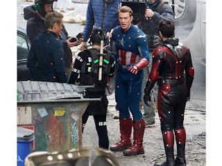 Avengers 4 set photos