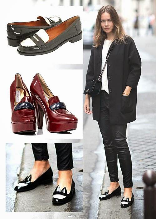 Sepatu Wanita Penny Loafers