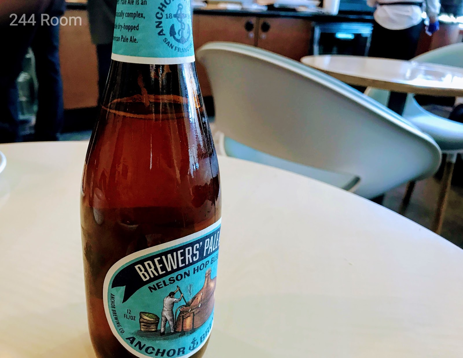 SFO Air France KLM Lounge beer