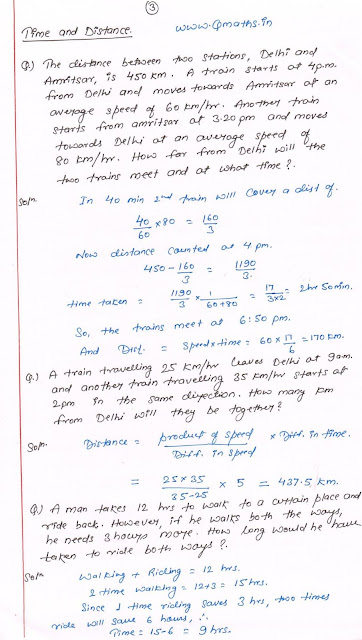time and distance tricks ssc cgl exam