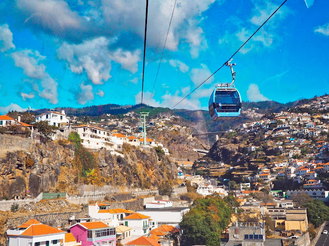 Cable Car tourist attraction in Funchal, Madeira