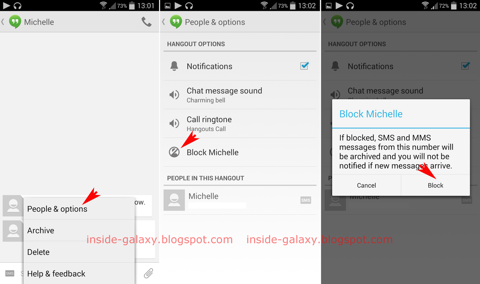 Samsung Galaxy S4: How to Block Unwanted Messages in