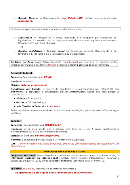 Resumo da constituição federal para concurso pdf