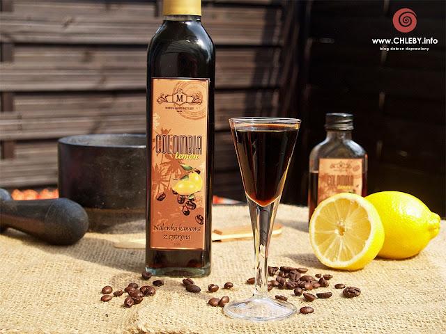 Nalewka kawowa z cytryną