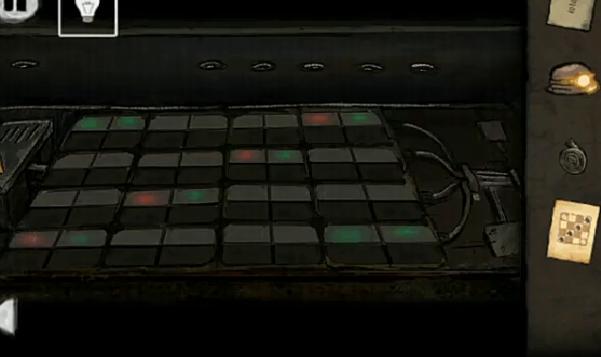 цвета согласно подсказке шахматных фигур в игре выход из заброшенной шахты