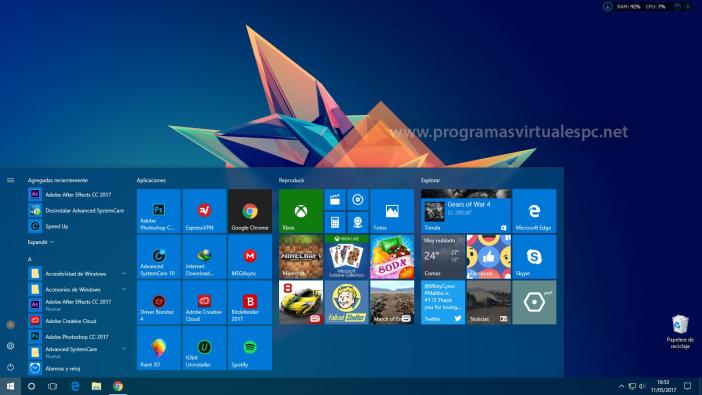 Descargar imagen de windows 10
