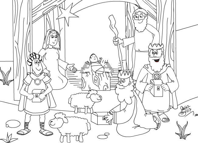 Dibujos Para Colorear De Navidad Colorear Dibujos Infantiles