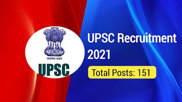 UPSC Recruitment 2021: