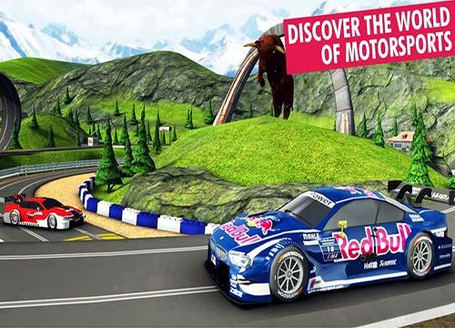 لعبة سباق سيارات ريد بول Red Bull Racers للاجهزة اللوحية الحديثة الموبيل والتابلت