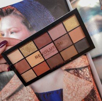 Paleta de Sombras Makeup Revolution Re-Loaded para maquilhagem de dia da mulher