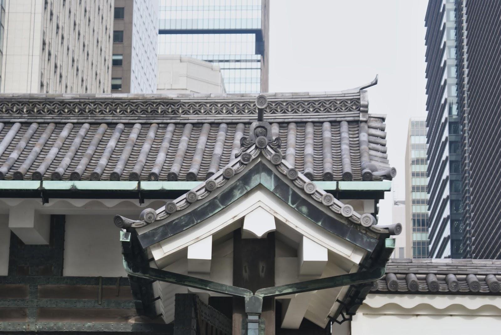 tokyo marunouchi imperial palace Kōkyo contrast