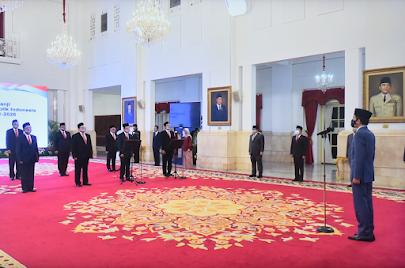 Ini Sembilan Anggota Ombudsman RI Yang Dilantik di Istana Hari Ini