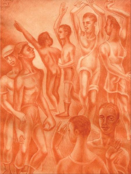 Dibujo: N.- 14 Bis, 1964