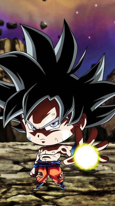 Hình Nền Đẹp HD Cho Điện Thoại Goku Chibi Siêu Ngầu
