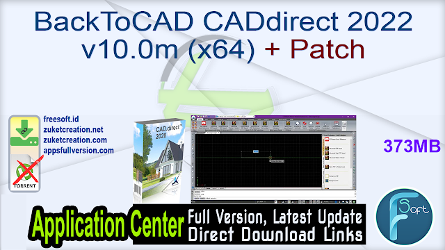 BackToCAD CADdirect 2022 v10.0m (x64) + Patch