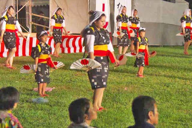 children, dance, Eisa, festival, Kin, matsuri, Okinawa