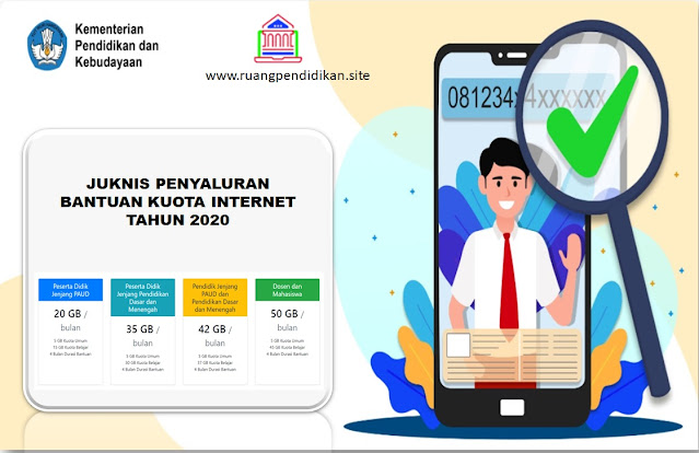 Juknis Bantuan Kuota Data Internet Kemendikbud