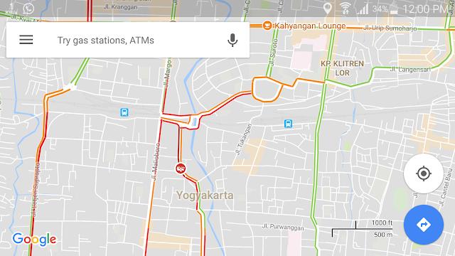 penampilan google maps