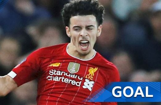 Curtis Jones on target for Liverpool as they defeat Everton